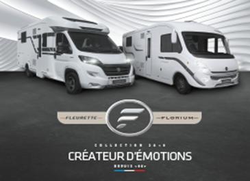 Collection 2019 – Découvrez les nouveautés camping-car Fleurette 2019