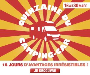 RDV dans les concessions Fleurette / Florium pour la quinzaine du camping-car !