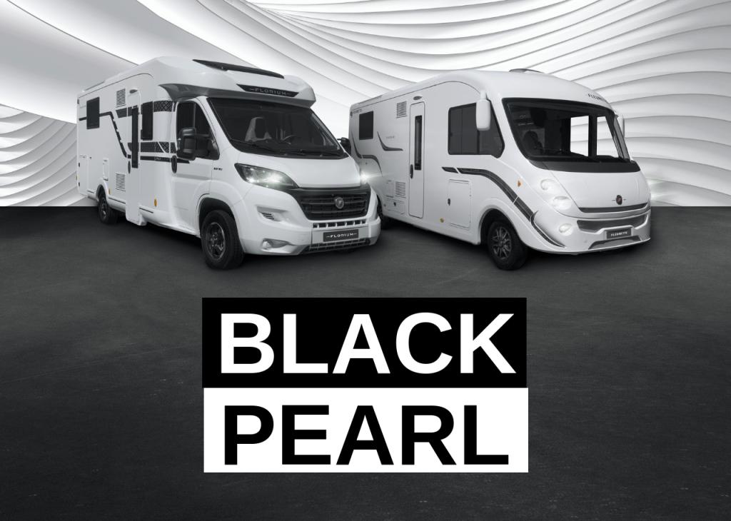 Black Pearl : nos camping-cars Florium à découvrir chez nos concessionnaires !