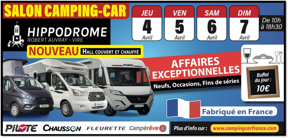Retrouvez nos camping-cars Florium au Salon de Vire