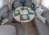 Camping Car 7 Places Fleurette Magister 70LD Salon