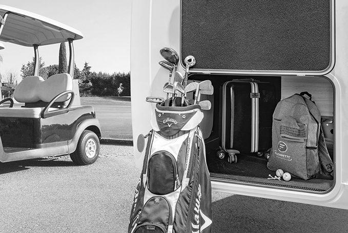 Camping Car Avec Salon Arriere Fleurette Discover 75LOFT Soute