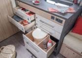 Camping Car Avec Soute Garage Florium Mayflower 69LO Cuisine