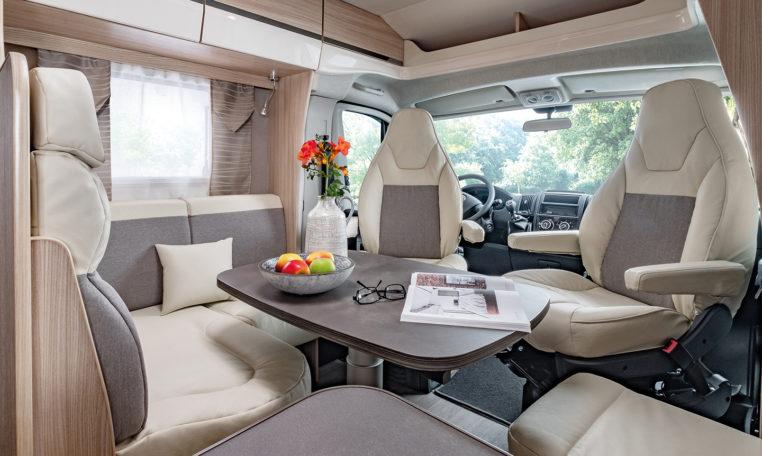 Camping Car Florium 6 M Baxter 60LG Salon