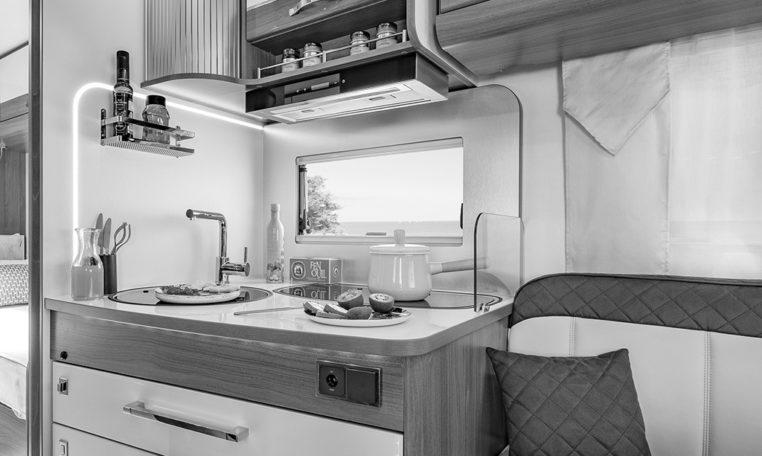 Camping Car Florium Mayflower 73LJF - Cuisine