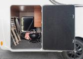 Camping Car Integral Lit Jumeaux Fleurette Discover 74LJG Soute