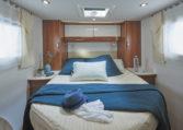 Camping Car Lit Central 6m50 Fleurette MAGISTER 65 LCX Chambre