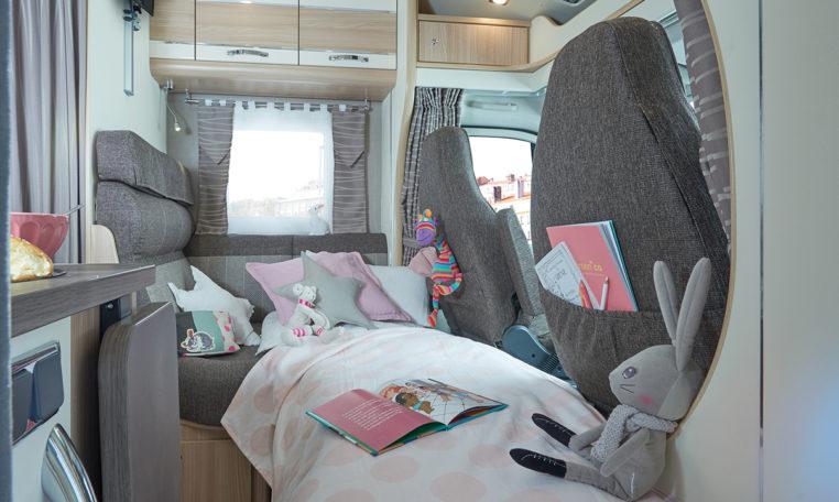 Camping Car Lit Central Florium Mayflower 65LCX Lit D App