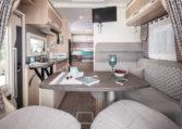 Camping Car Lit Central Florium Mayflower 65LCX Salon