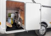 Camping Car Lit Jumeaux Fleurette Magister 69LJG Soute