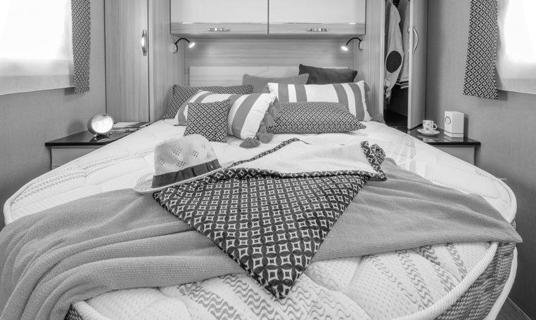 Camping Car Lit Pavillon Fleurette Magister Black Pearl 70LMF Chambre