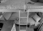 Camping Car Moins De 7m Fleurette Magister 69LO Chambre