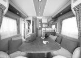 Camping Car Moins De 7m Fleurette Magister 69LO Salon