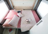 Camping Car Salon Arriere Florium Wincester 75LOFT Chambre1