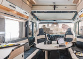 Grand Camping Car Florium Wincester Black Pearl 75LMF Salon
