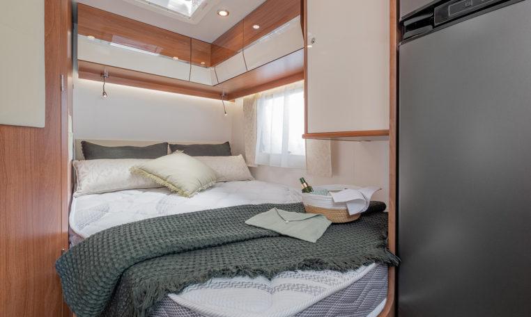 Petit Camping Car Fleurette Migrateur 60LG Chambre