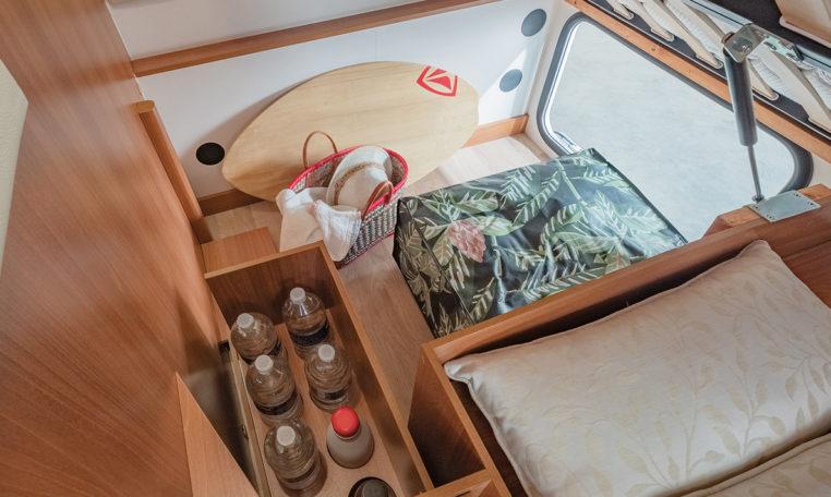 Petit Camping Car Fleurette Migrateur 60LG Coffre