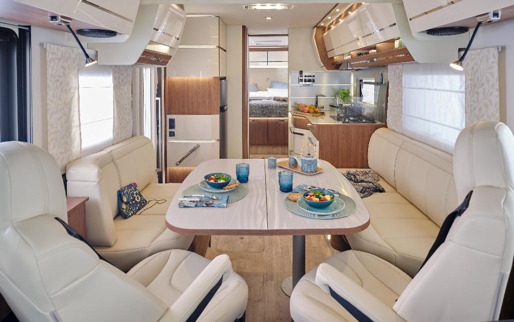 Camping Car Integraux Fleurette Discover Cristal 78lmf Salon