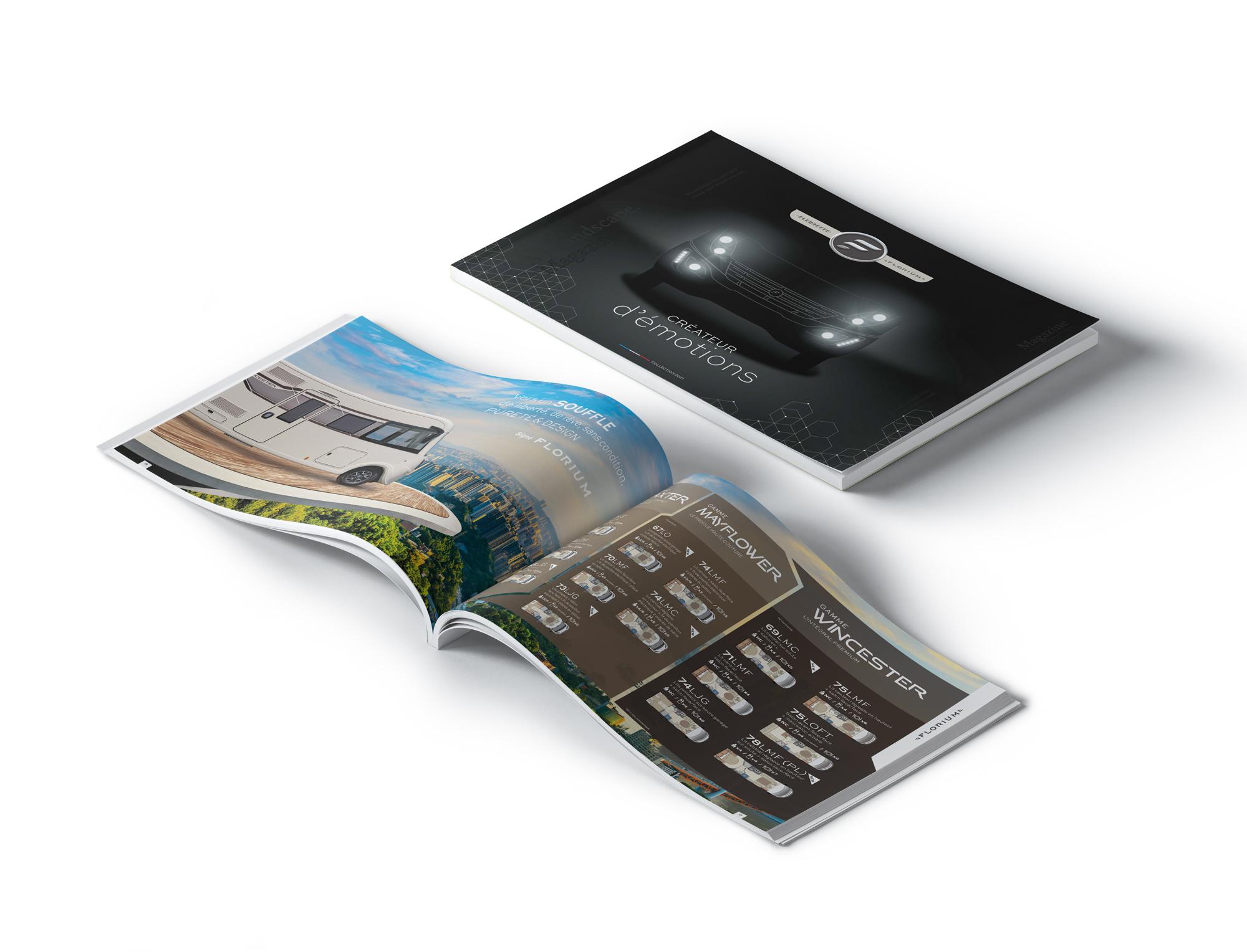 Catalogue Camping-Car - Fleurette Florium - Collection 2021