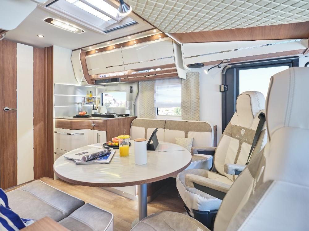 Camping Car Integraux Fleurette Discover Cristal 75lmf Salon