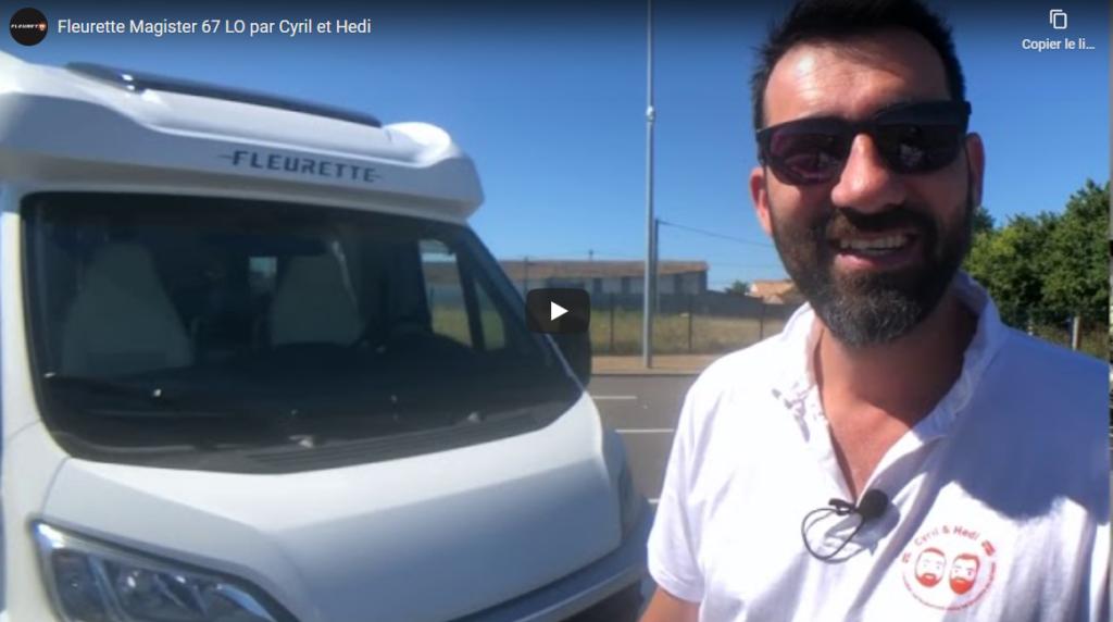 Vidéo du Fleurette 67 LO par Cyril et Hedi